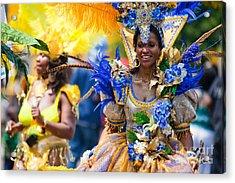 Dc Caribbean Carnival No 19 Acrylic Print by Irene Abdou