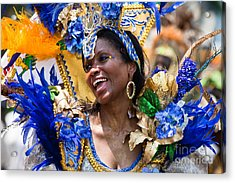 Dc Caribbean Carnival No 20 Acrylic Print by Irene Abdou