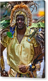 Dc Caribbean Carnival No 21 Acrylic Print by Irene Abdou