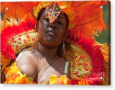 Dc Caribbean Carnival No 22 Acrylic Print by Irene Abdou