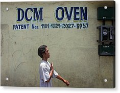 Dcm Oven 2 Acrylic Print by Jez C Self