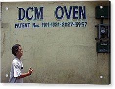 Dcm Oven Acrylic Print by Jez C Self