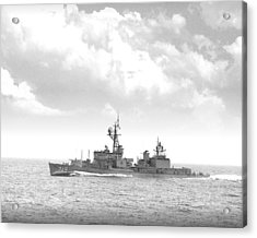 Dd 719 Uss Epperson Acrylic Print by Mike Ray