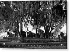De La Ronde Plantation Home Ruins Acrylic Print