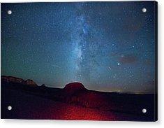 De Na Zin Milky Way Acrylic Print