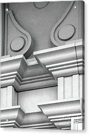 De Pauw University Detail Acrylic Print by University Icons