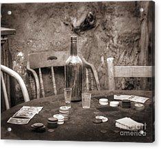 Dead Hand Acrylic Print by Arni Katz