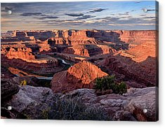 Acrylic Print featuring the photograph Dead Horse State Park by John Gilbert