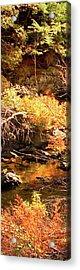 2 Of 6 Dead River Falls  Marquette Michigan Section Acrylic Print