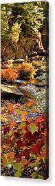 4 Of 6 Dead River Falls  Marquette Michigan Section Acrylic Print