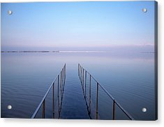 The Dead Sea Acrylic Print by Yoel Koskas