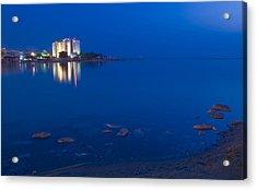 Dead Sea Acrylic Print by Kobby Dagan