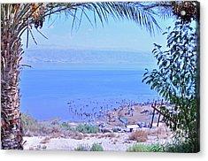 Dead Sea Overlook 2 Acrylic Print
