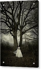 Dead Tree Acrylic Print by Cambion Art