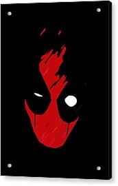 Deadpool Acrylic Print by Kyle J West