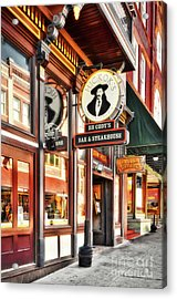 Deadwood South Dakota Acrylic Print by Mel Steinhauer