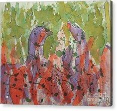 Deamons Acrylic Print by Jason Whitehead