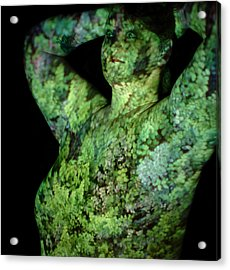 Deanna Acrylic Print by Arla Patch