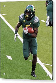 De'anthony Thomas Oregon Ducks Acrylic Print by Sam Amato