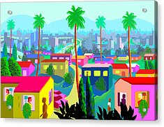 Dear California Acrylic Print by Charles Harker
