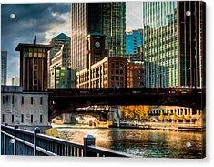 Dearborn Bridge Acrylic Print