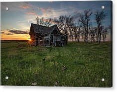 Acrylic Print featuring the photograph Dearly Departed by Aaron J Groen