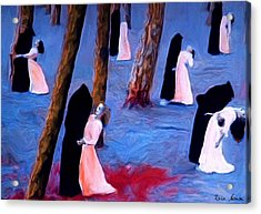 Death And The Maidens Acrylic Print