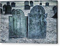 Death By Smallpox Acrylic Print