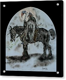 Death Dealer Acrylic Print by Suzanne Blender