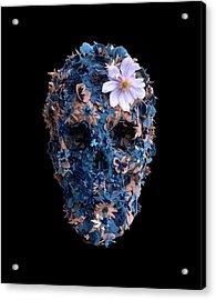 Skull 9 T-shirt Acrylic Print
