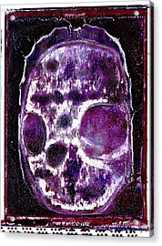 Acrylic Print featuring the photograph Death Followed By A Question Mark by Josean Rivera