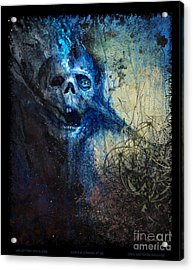 Death Is Staring At Me Acrylic Print