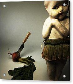 Death Of A Vegetable Acrylic Print