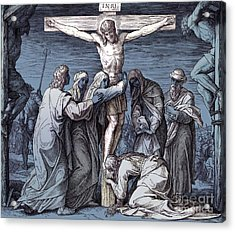 Death Of Jesus On The Cross, Gospel Of John Acrylic Print