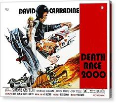 Death Race 2000, From Left Simone Acrylic Print by Everett