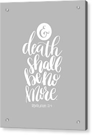 Death Shall Be No More Acrylic Print