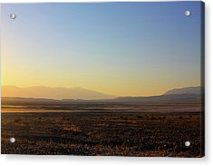 Death Valley -  A Beautiful But Dangerous Place Acrylic Print by Christine Till