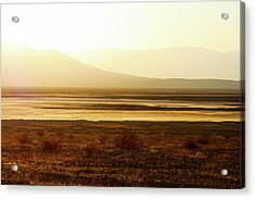 Death Valley - A Natural Geologic Museum Acrylic Print by Christine Till
