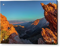 Death Valley 1 Acrylic Print by Blake Yeager