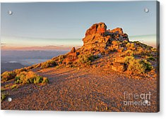Death Valley 2 Acrylic Print by Blake Yeager