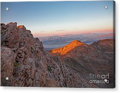 Death Valley 4 Acrylic Print by Blake Yeager