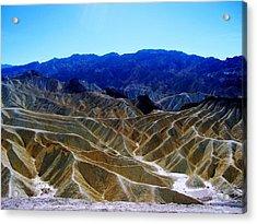 Death Valley Moguls Acrylic Print by Don Struke