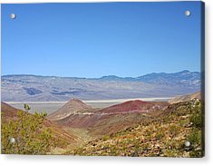 Death Valley National Park - Eastern California Acrylic Print by Christine Till