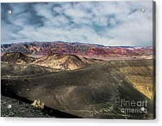 Death Valley National Park Ubehebe Crater Acrylic Print