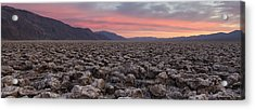 Acrylic Print featuring the photograph Death Valley by Patrick Downey
