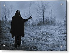 Death Wants To Play Acrylic Print by Art of Invi