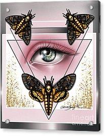 Death's Head Moths Acrylic Print