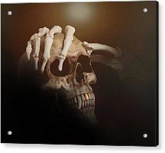 Death's Head Acrylic Print