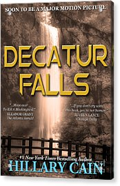 Decatur Falls Book Cover Acrylic Print