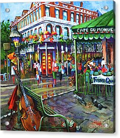 Decatur Street Acrylic Print by Dianne Parks